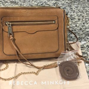 Rebecca Minkoff Avery Crossbody, Gold Detail